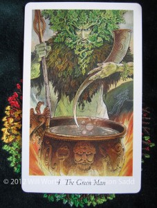 The Green Man, Wildwood Tarot (c) 2012